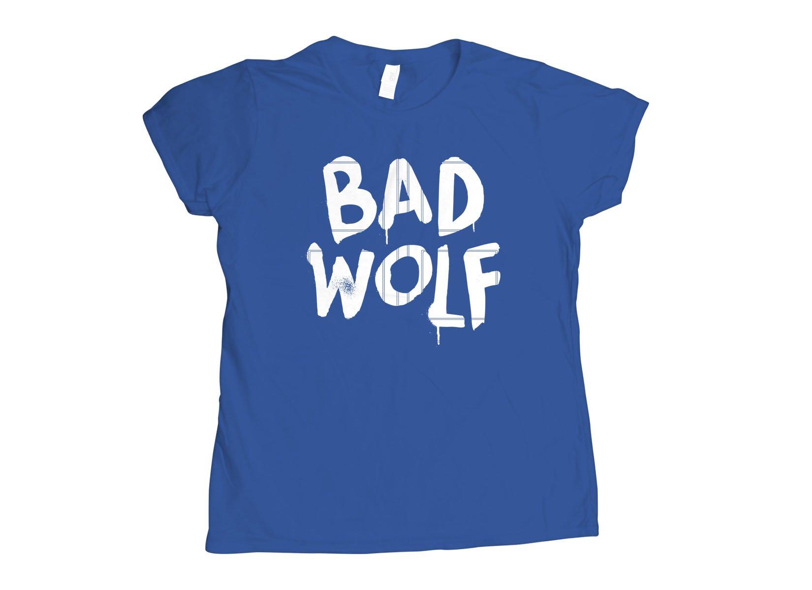 Bad Wolf on Womens T-Shirt