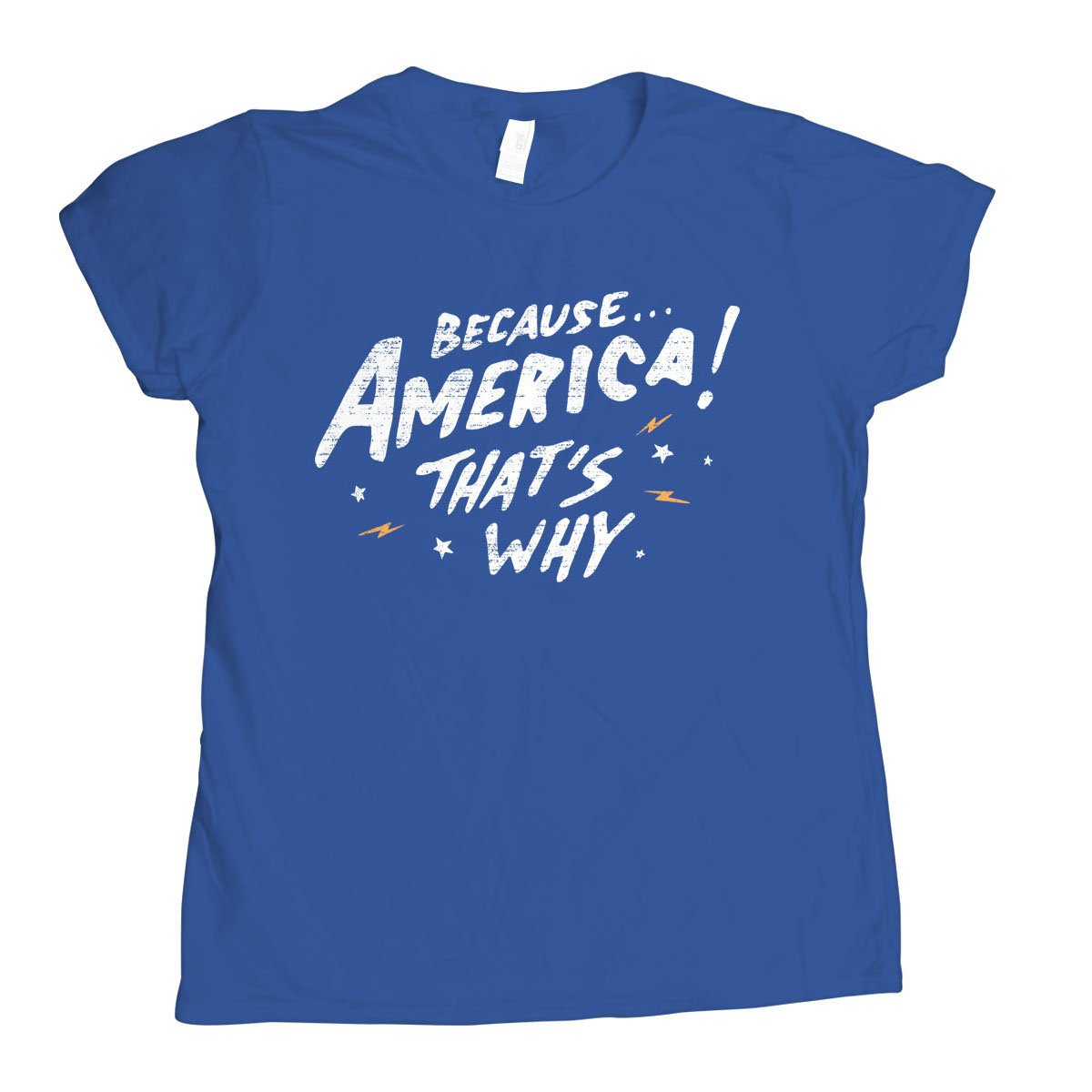 Because America! That's Why on Womens T-Shirt