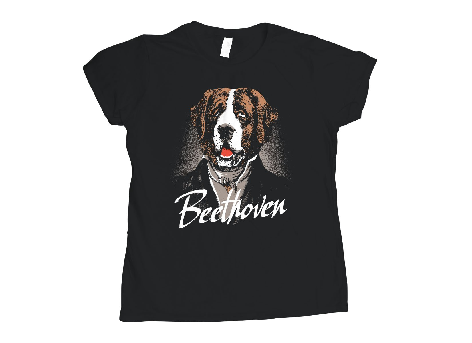 Beethoven on Womens T-Shirt