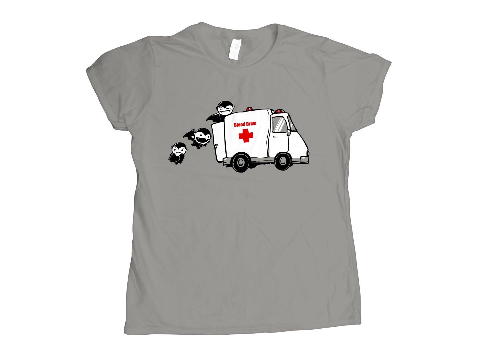 Blood Drive Vampires on Womens T-Shirt