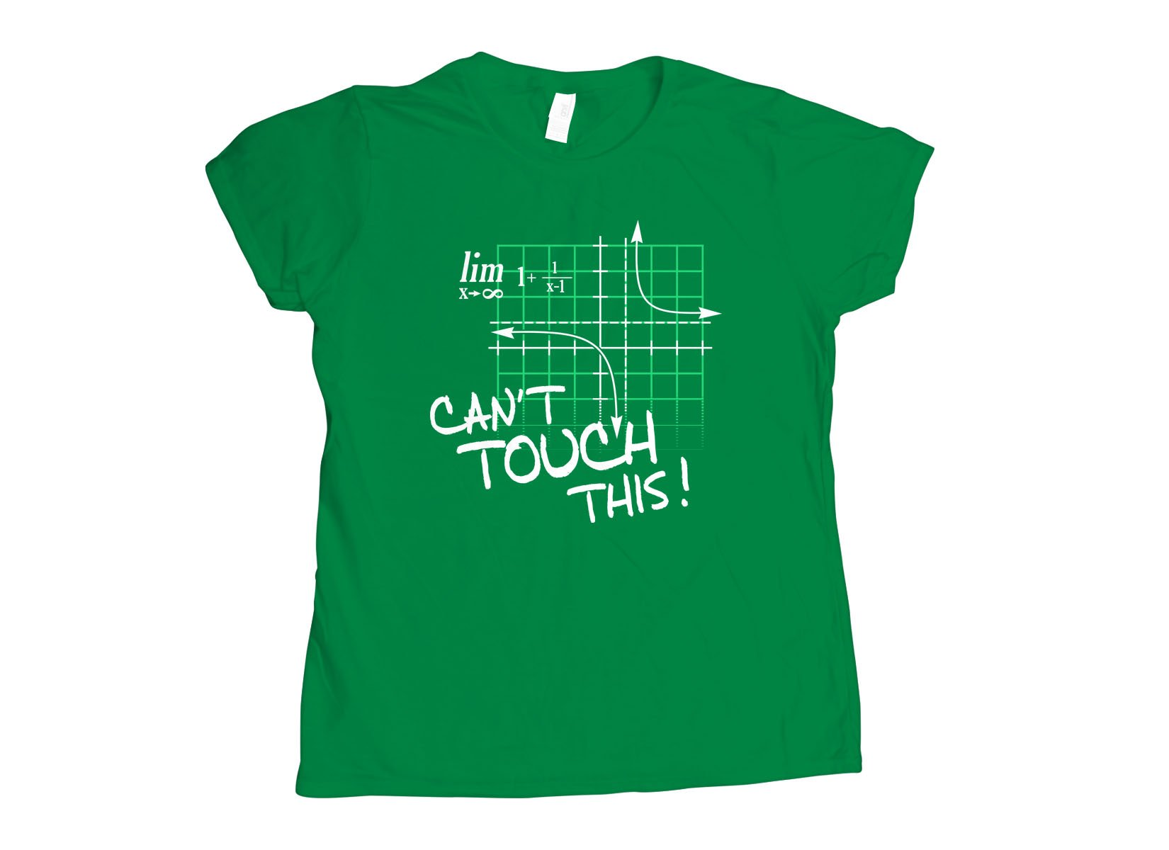 Can't Touch This Equation on Womens T-Shirt