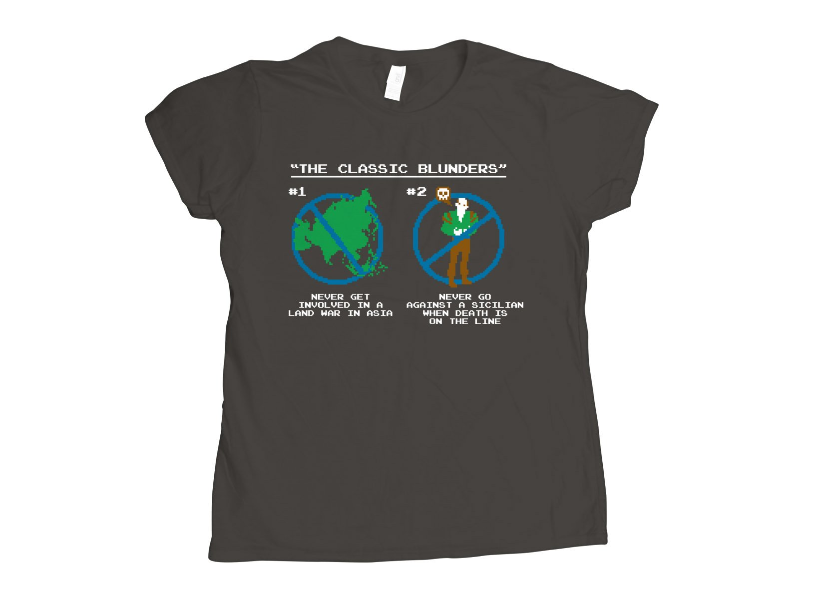 The Classic Blunders on Womens T-Shirt