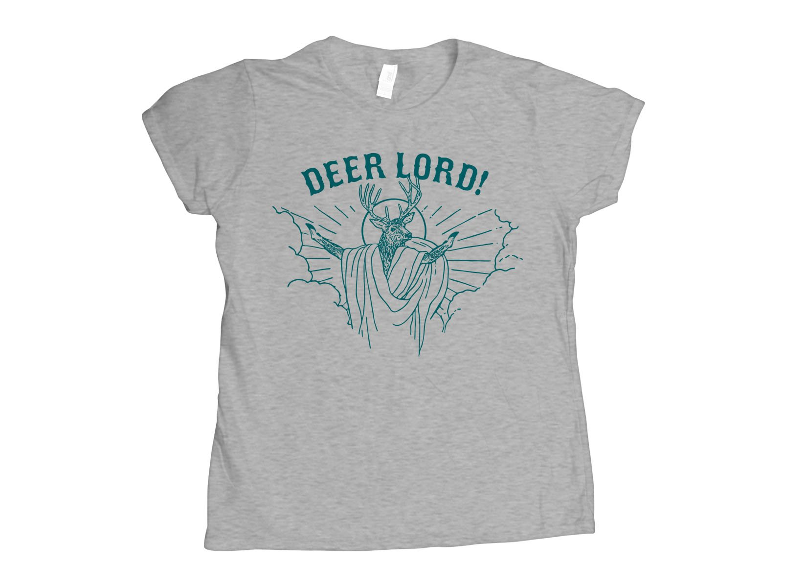 Deer Lord on Womens T-Shirt