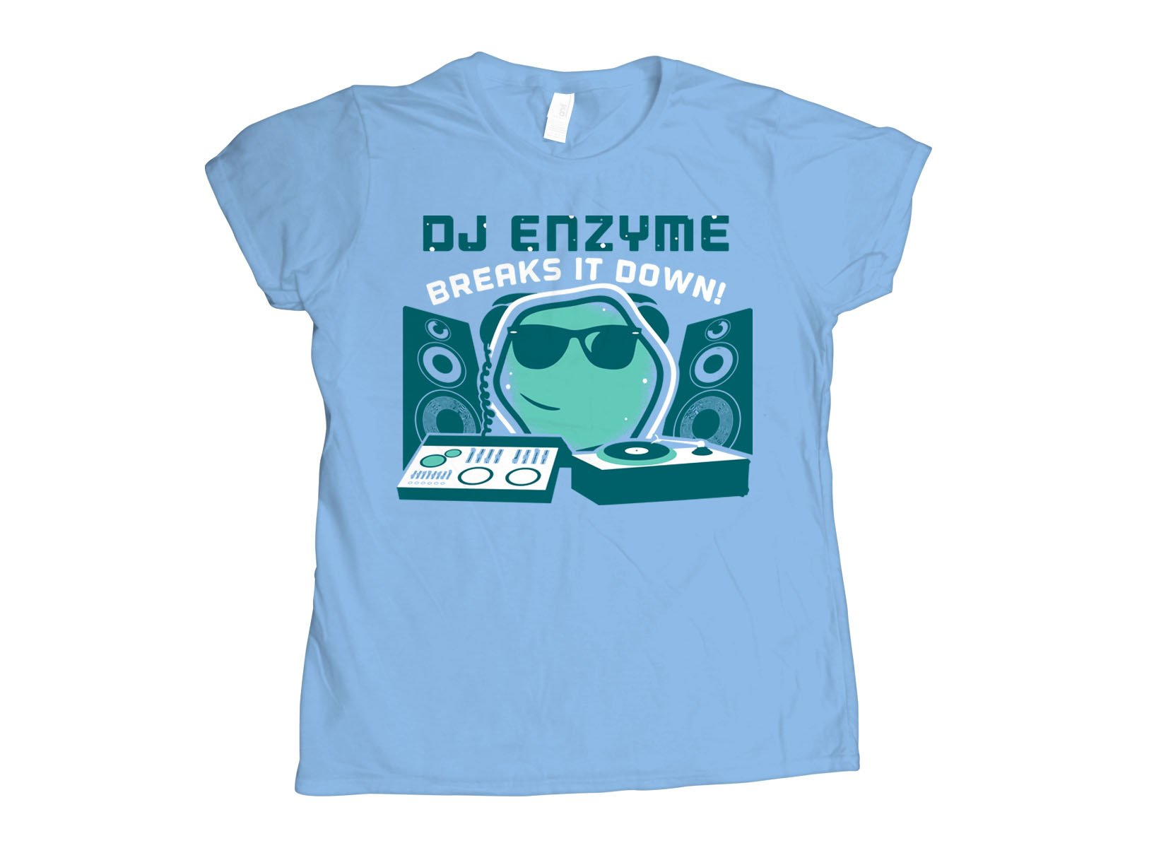 DJ Enzyme on Womens T-Shirt