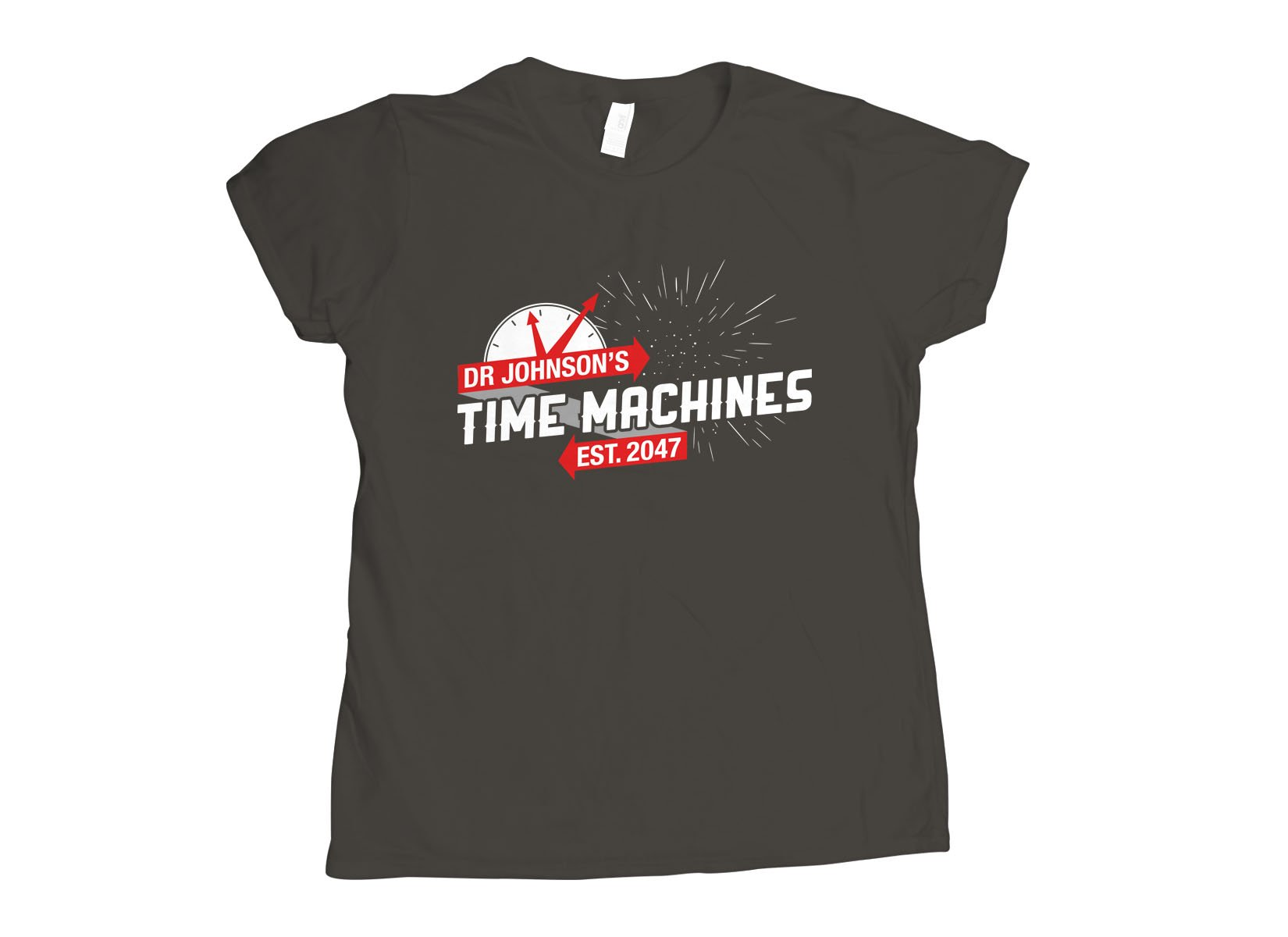 Dr Johnson's Time Machines on Womens T-Shirt