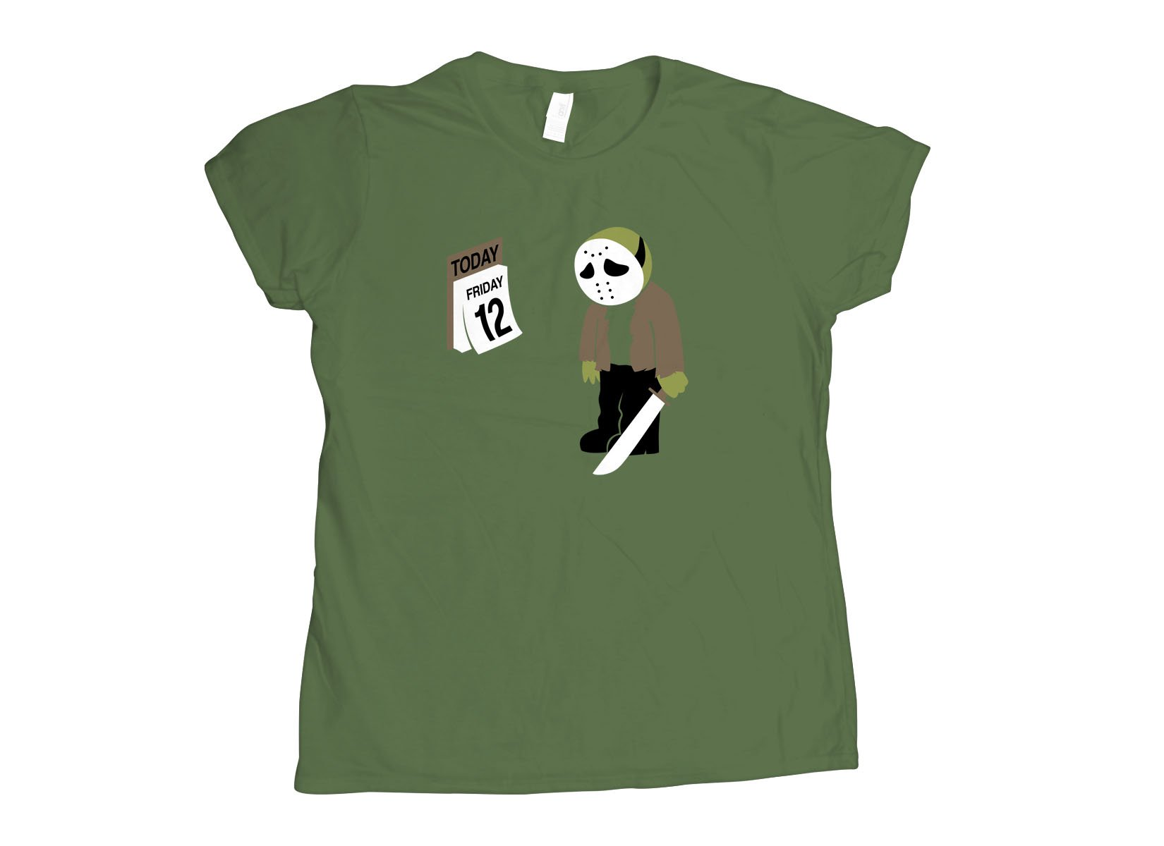 Friday the 12th on Womens T-Shirt