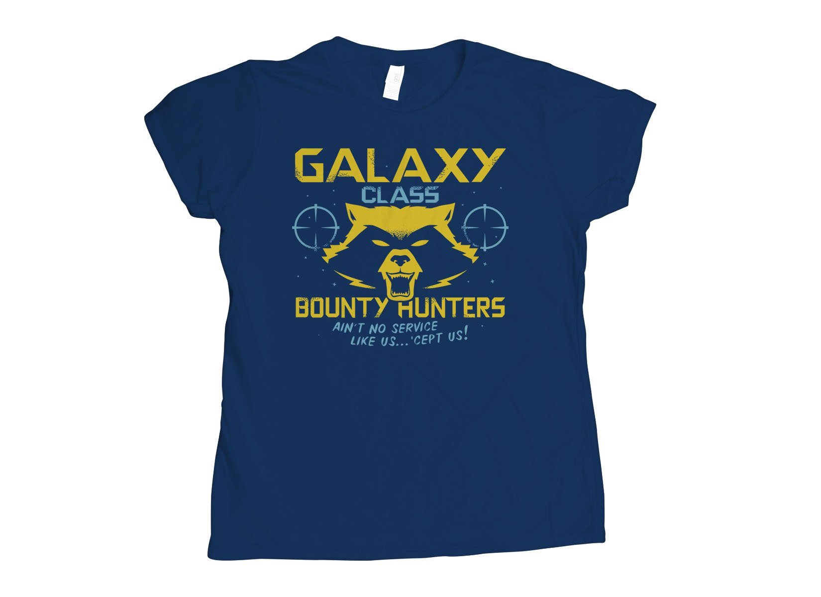 Galaxy Class Bounty Hunters on Womens T-Shirt