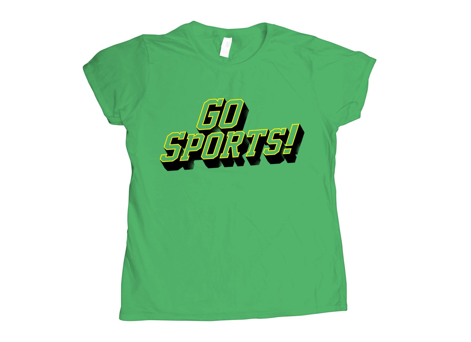 Go Sports! on Womens T-Shirt
