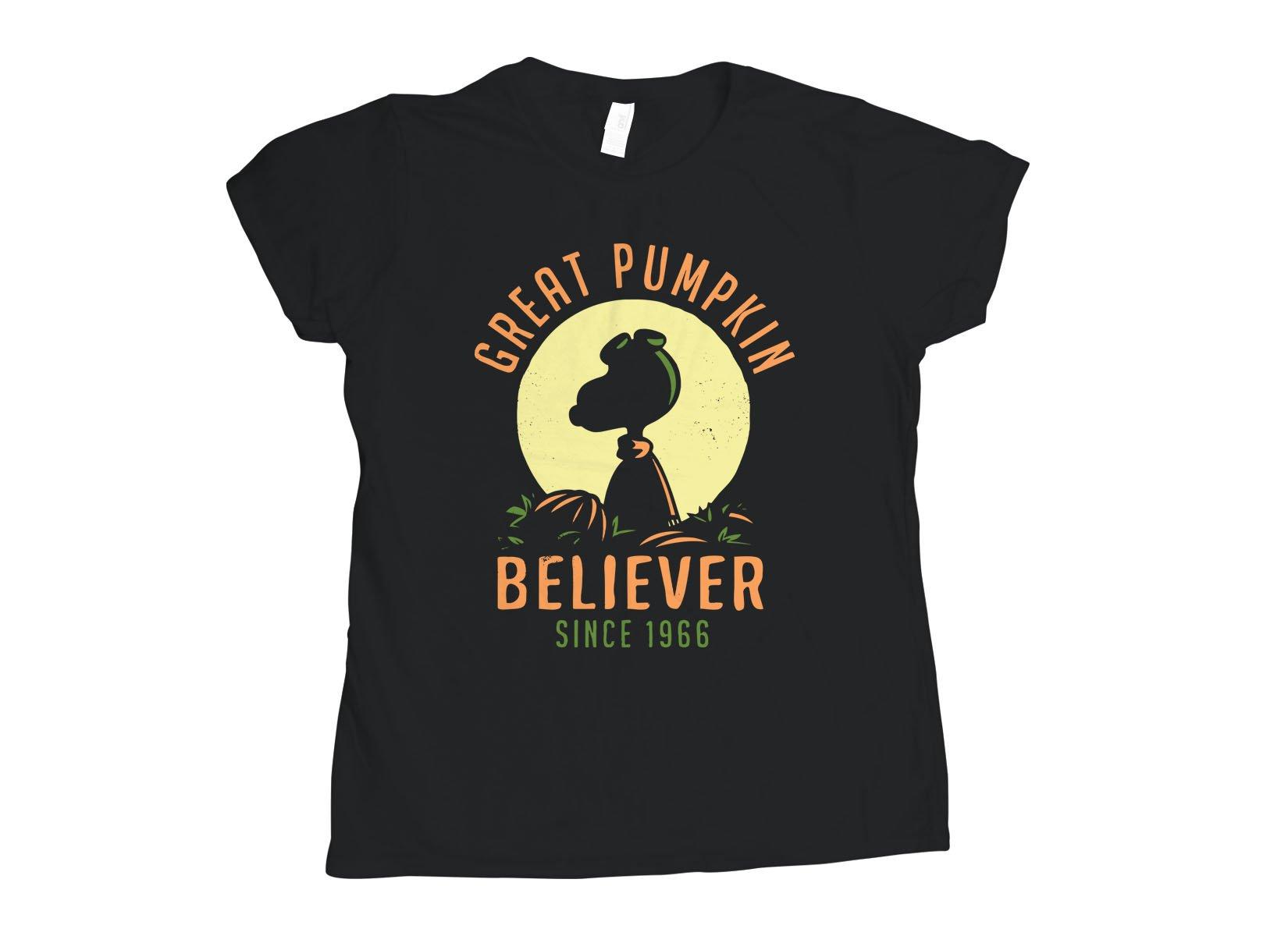 Great Pumpkin Believer on Womens T-Shirt