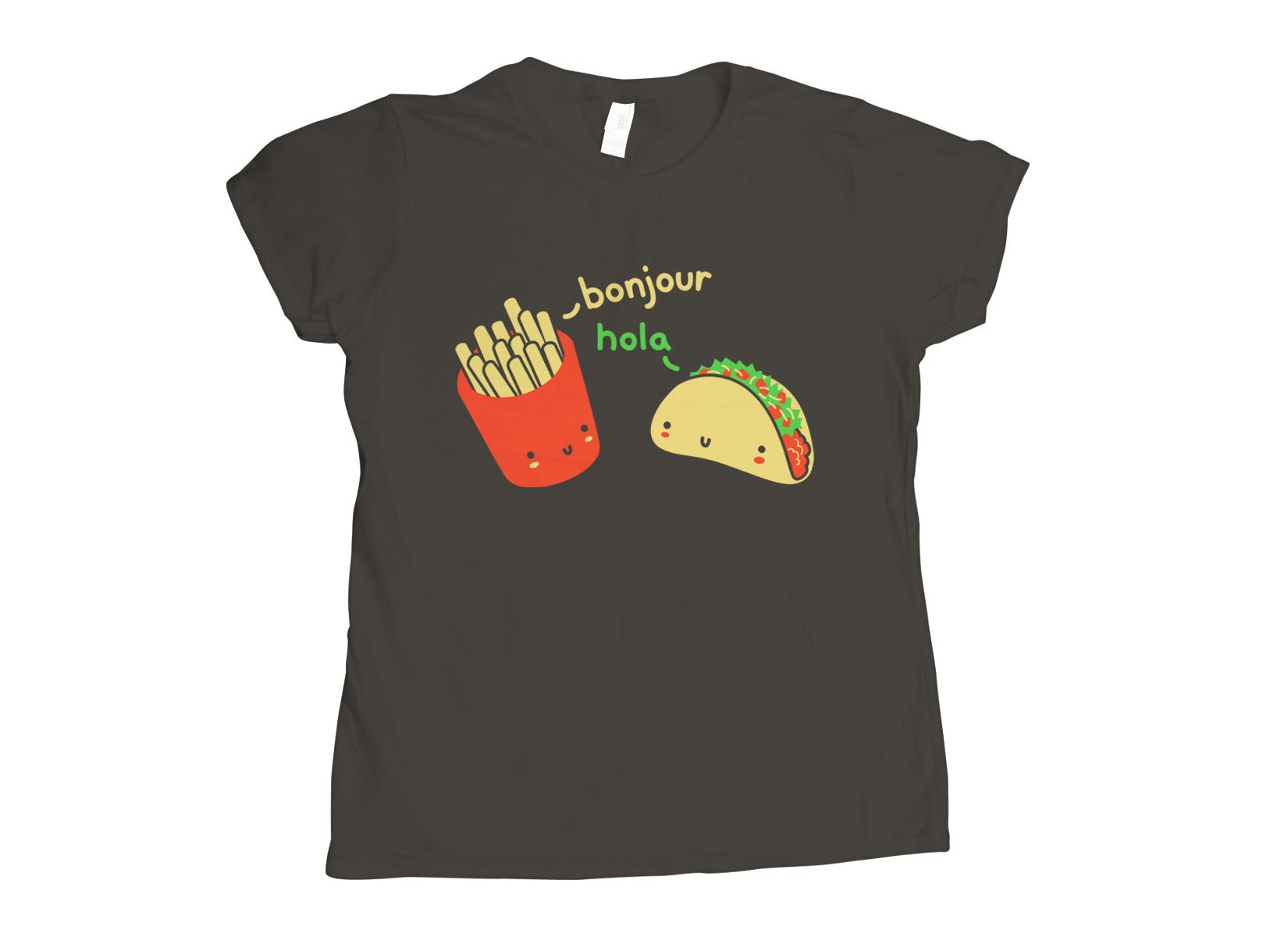 Hola Taco on Womens T-Shirt
