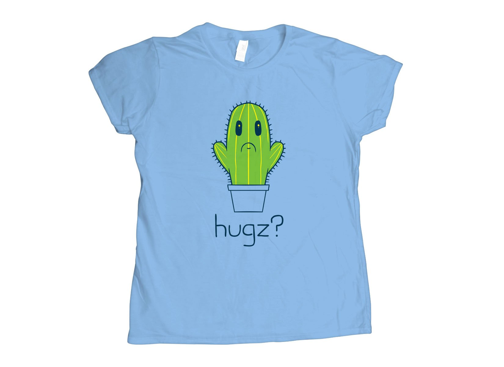 Hugz? Cactus on Womens T-Shirt
