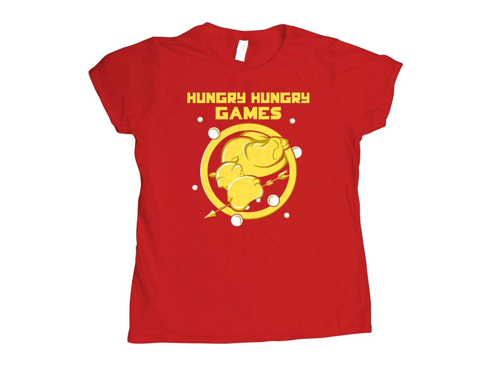 Hungry Hungry Games on Womens T-Shirt