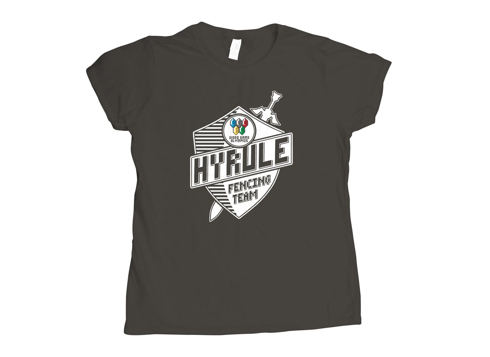 Hyrule Fencing Team on Womens T-Shirt