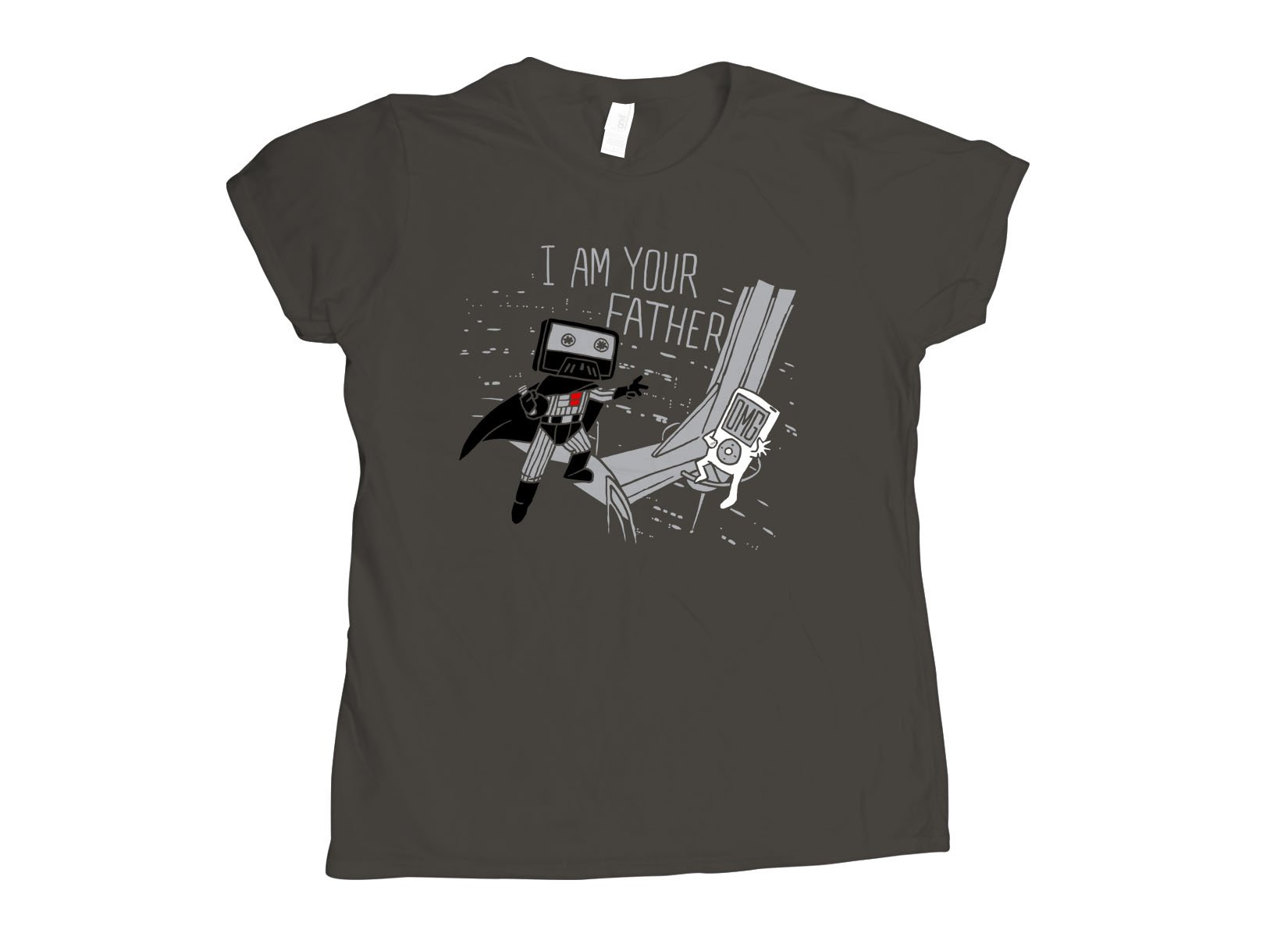 I Am Your Father Cassette on Womens T-Shirt
