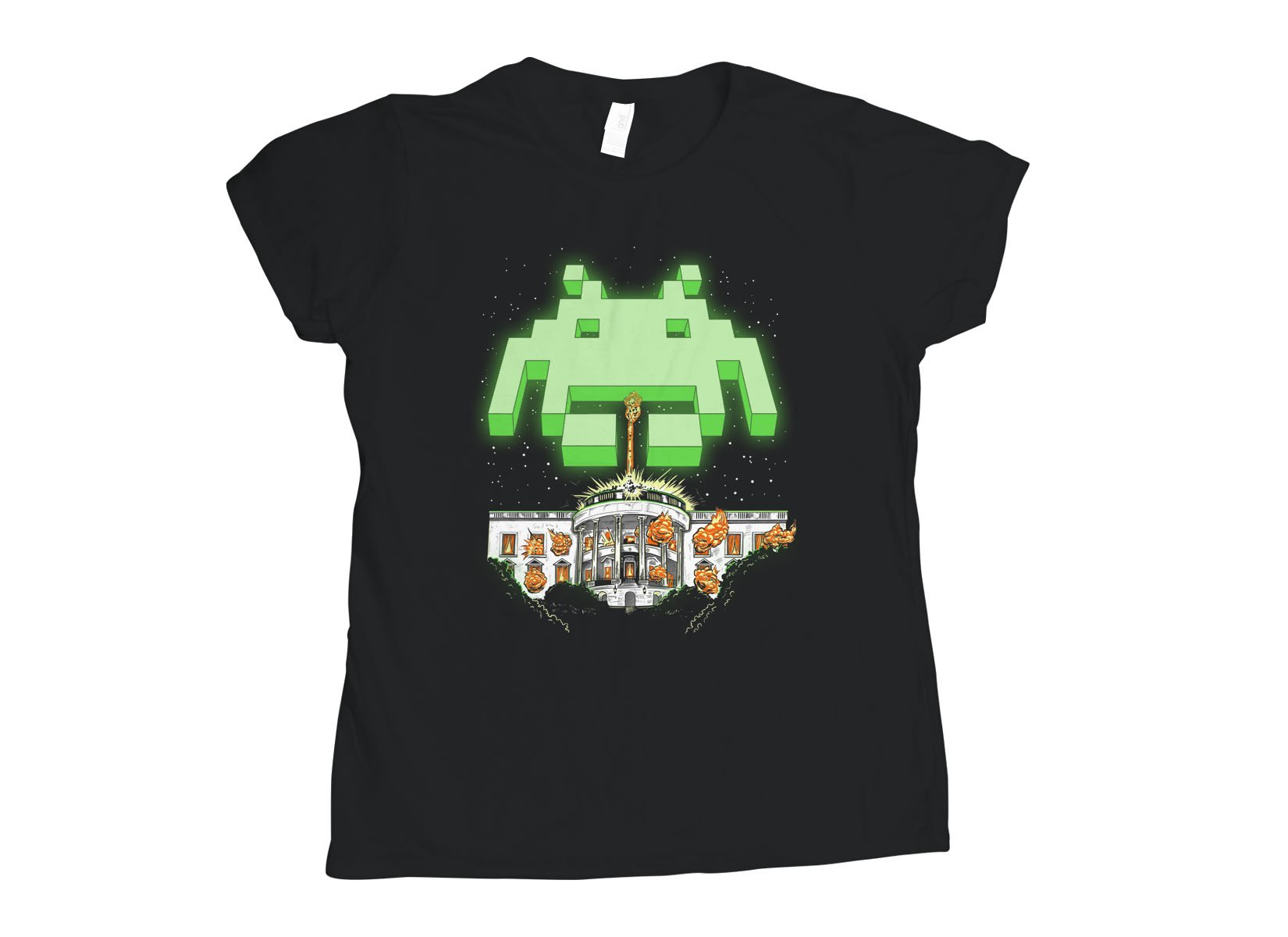 Invader Day on Womens T-Shirt