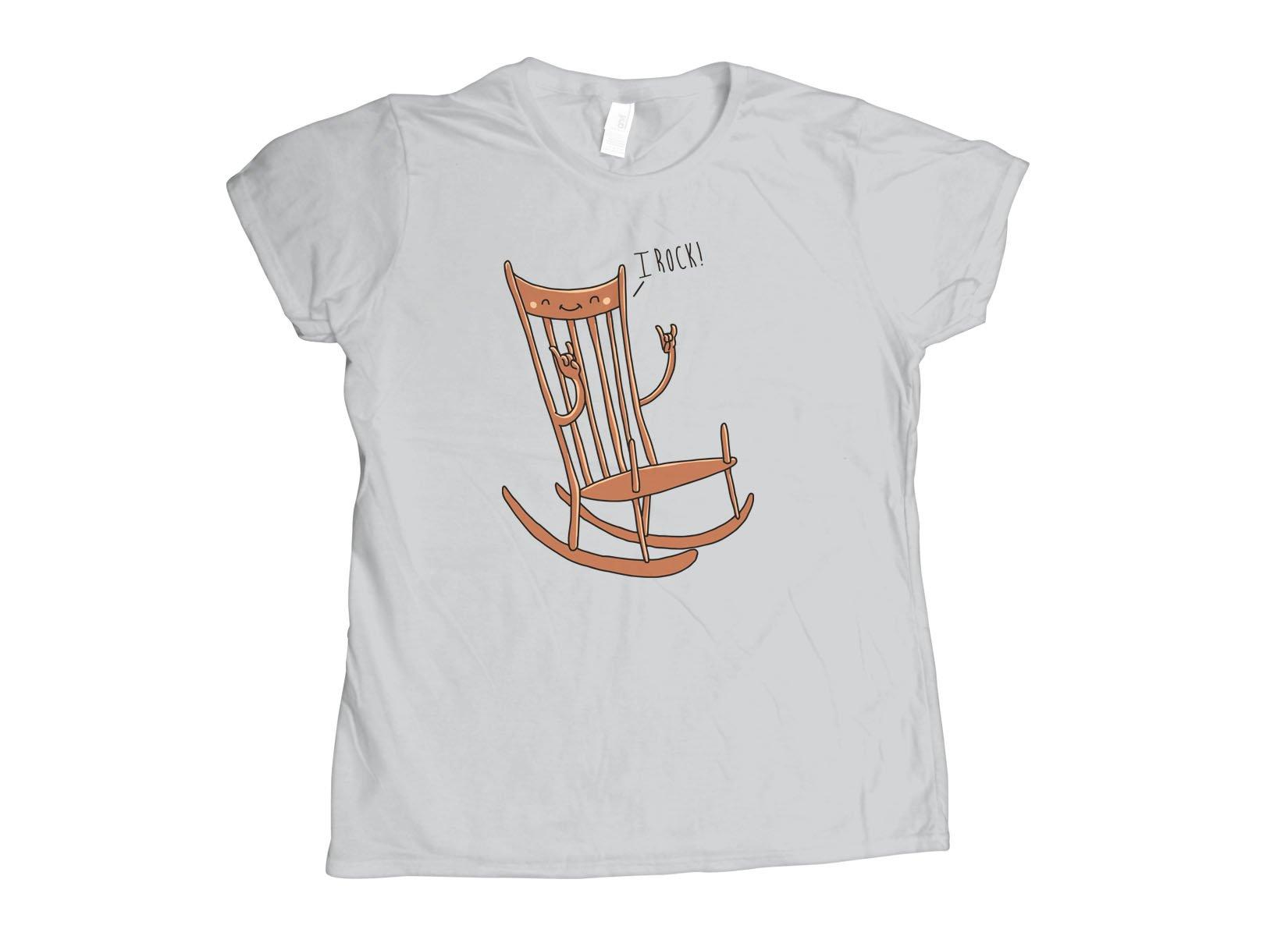 I Rock! on Womens T-Shirt