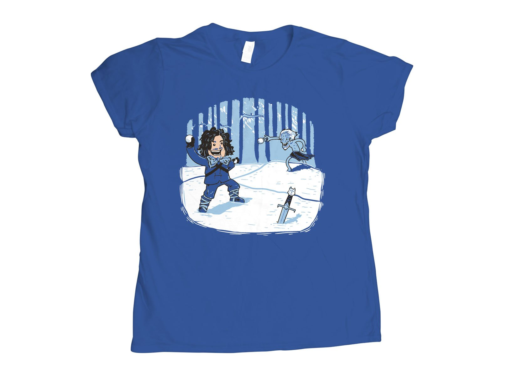 Jon Snowball on Womens T-Shirt