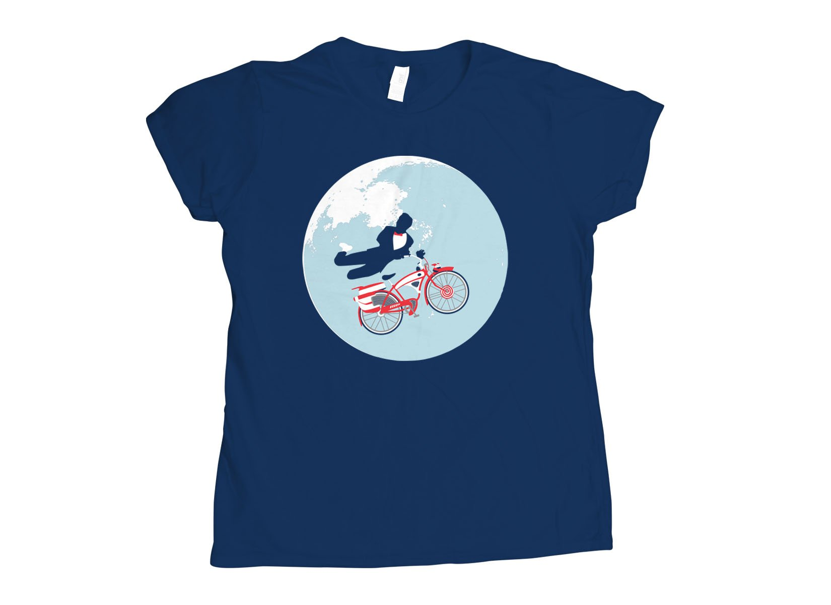 Jump The Moon on Womens T-Shirt
