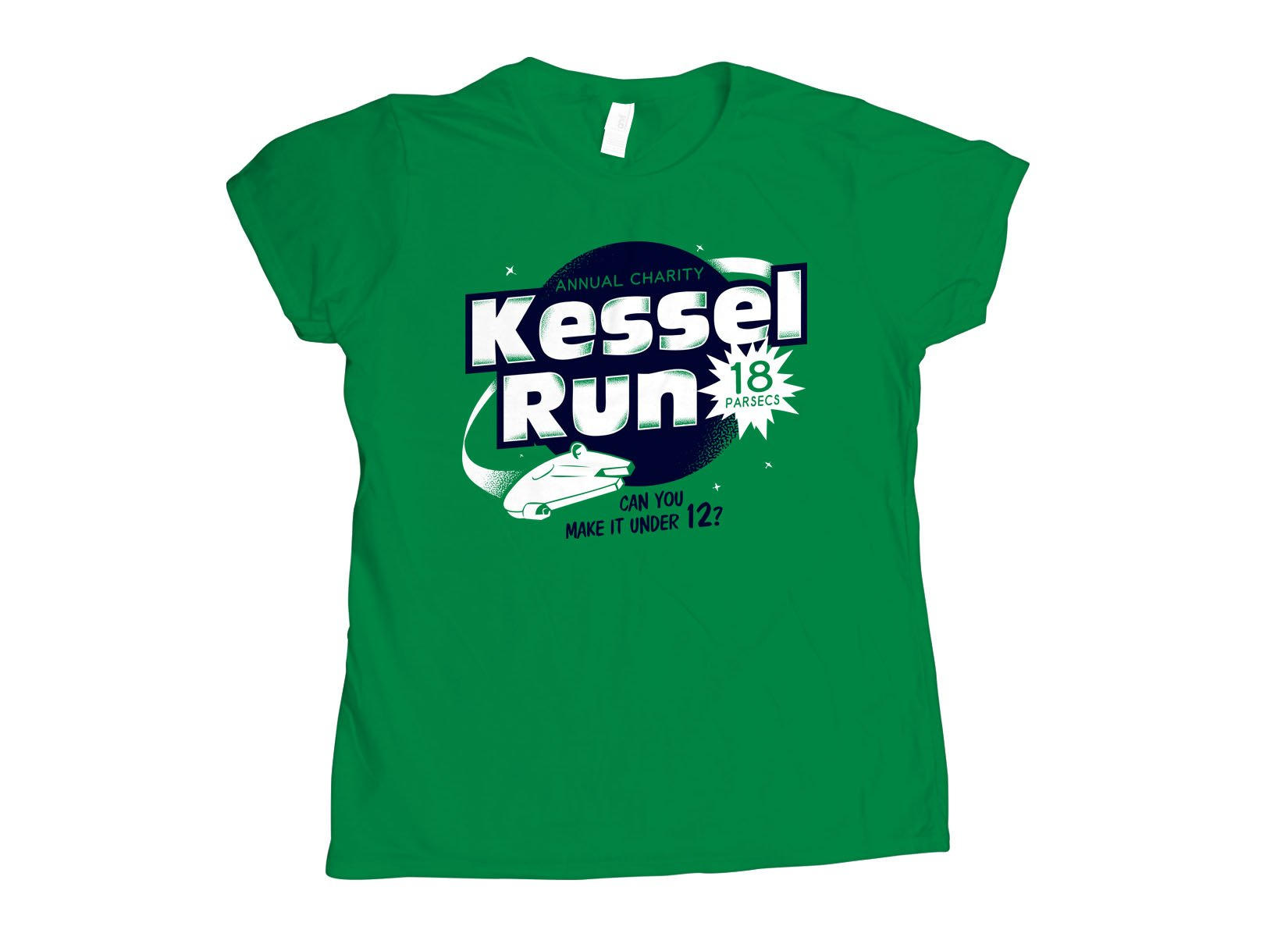 Kessel Run on Womens T-Shirt