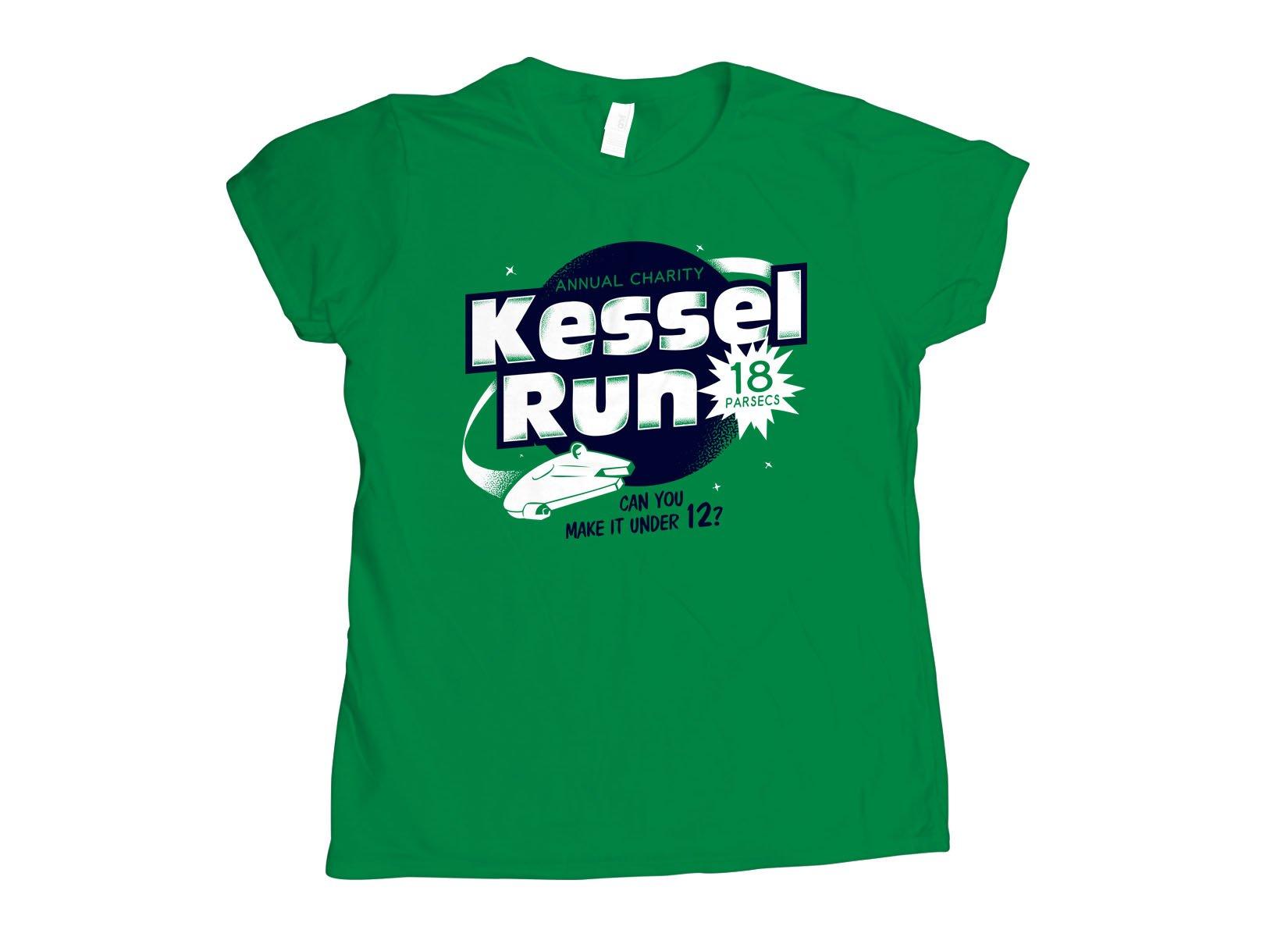 Kessel Run on Womens T-Shirt