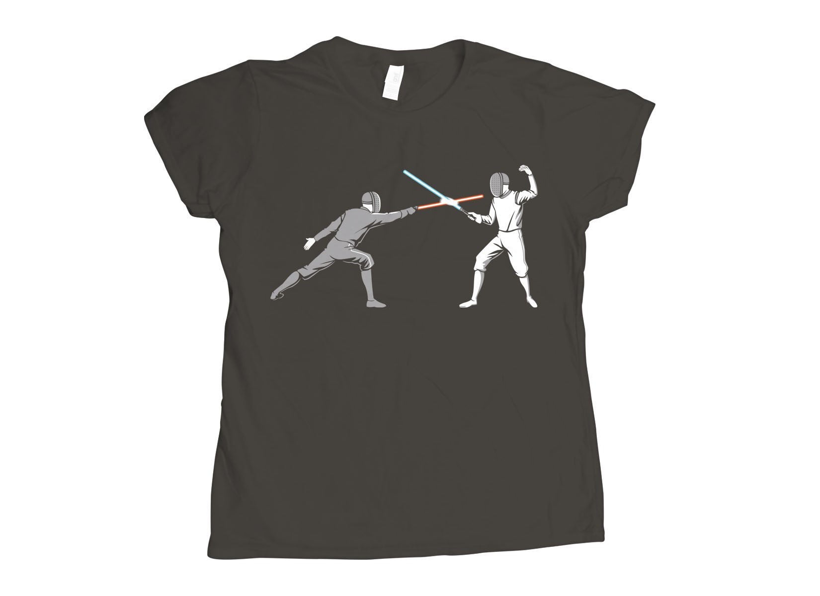Light Fencing on Womens T-Shirt