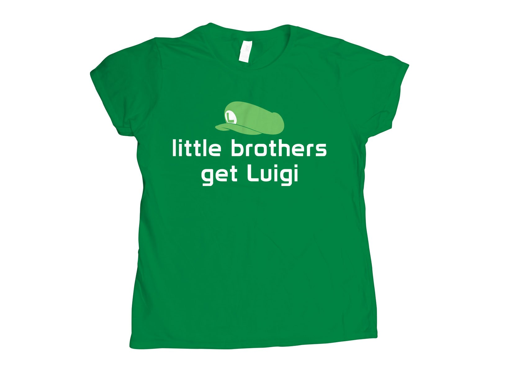 Little Brothers Get Luigi on Womens T-Shirt