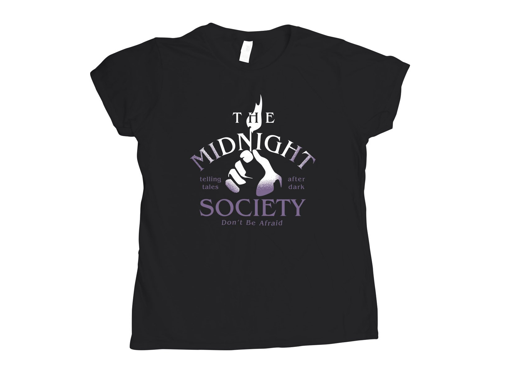 The Midnight Society on Womens T-Shirt
