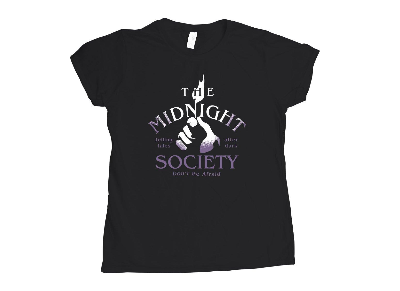 The Midnight Society on Womens T-Shirt