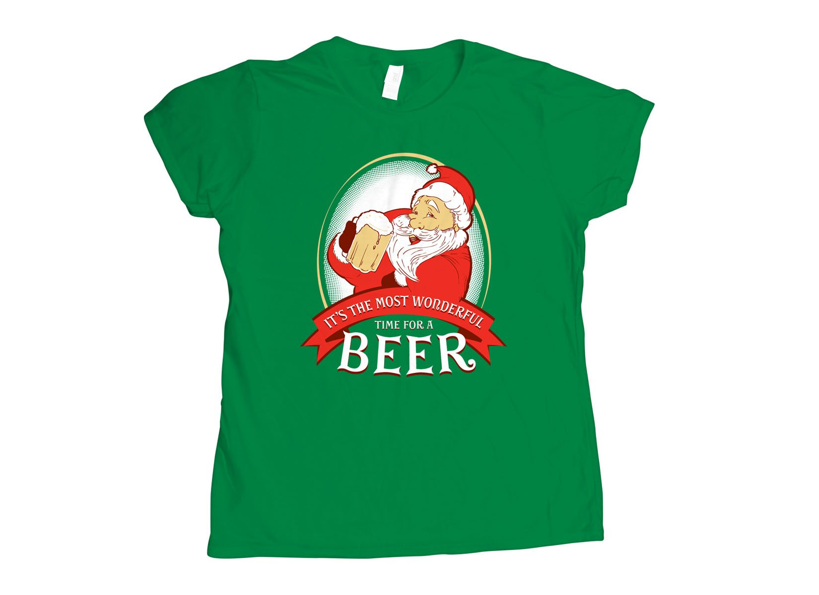 It's The Most Wonderful Time For A Beer on Womens T-Shirt