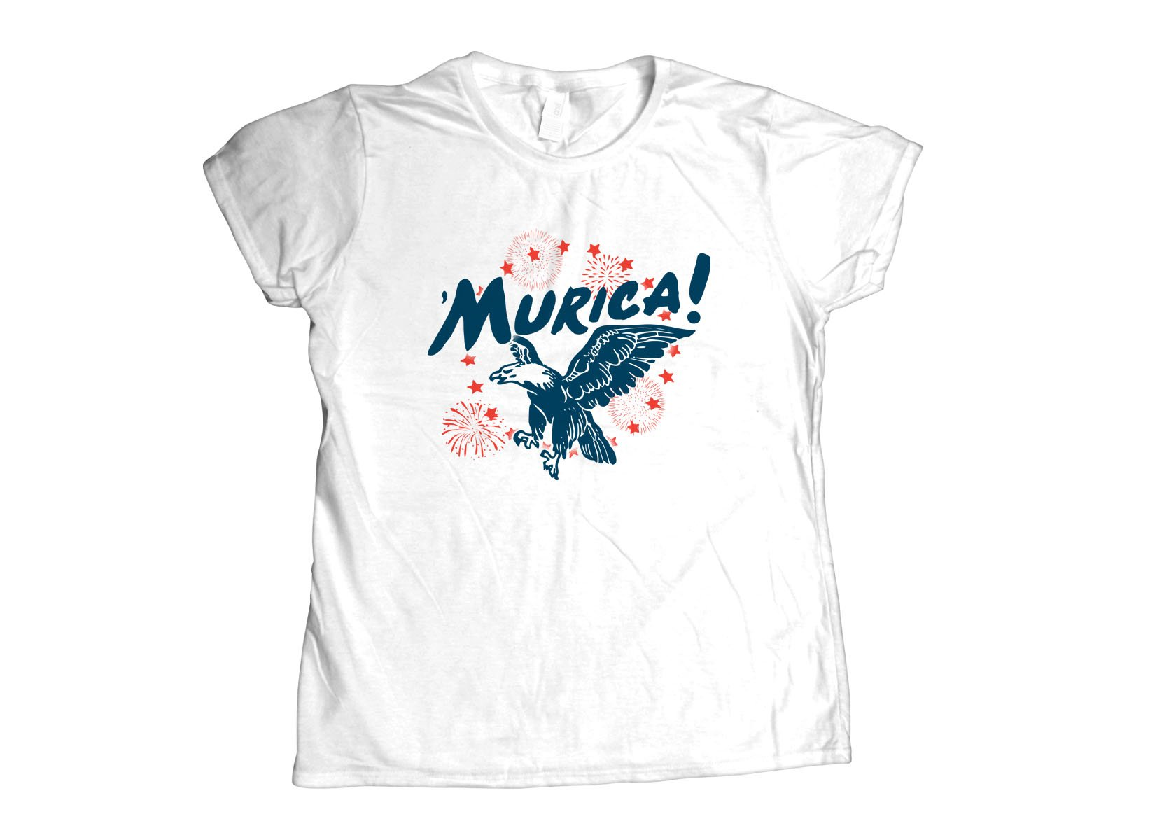'Murica on Womens T-Shirt