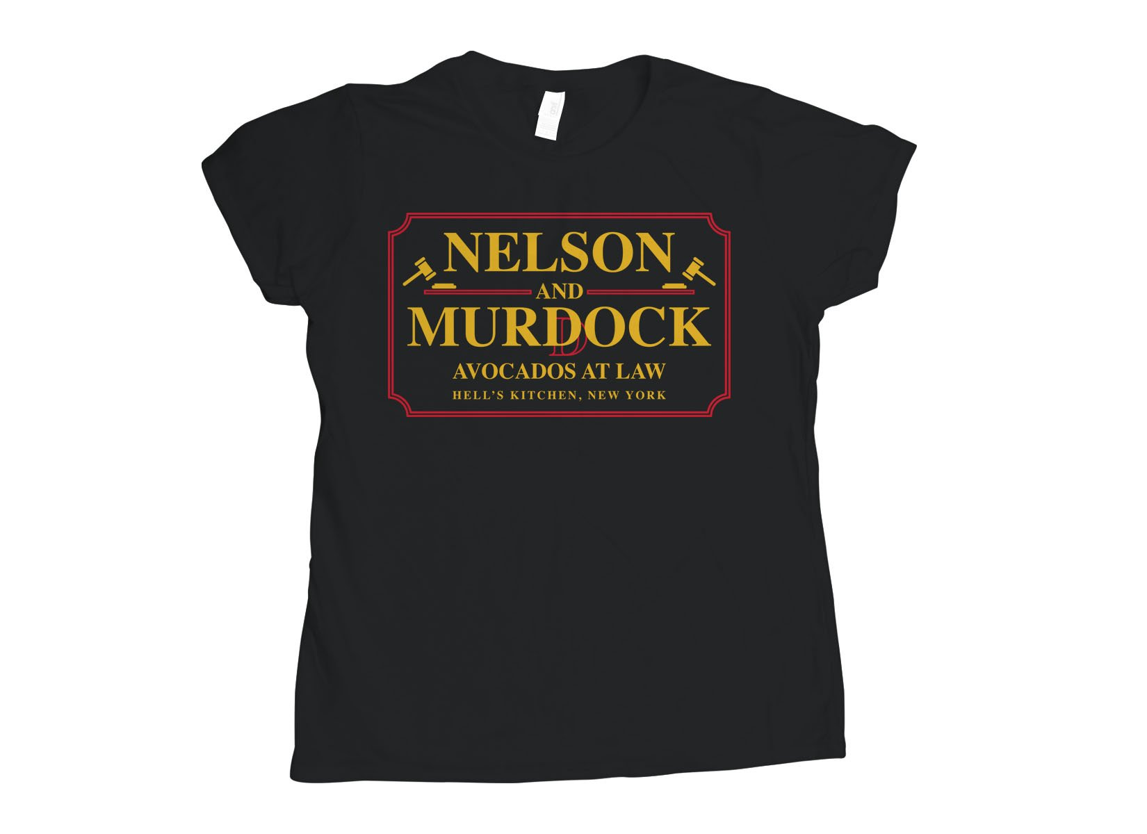 Nelson And Murdock on Womens T-Shirt