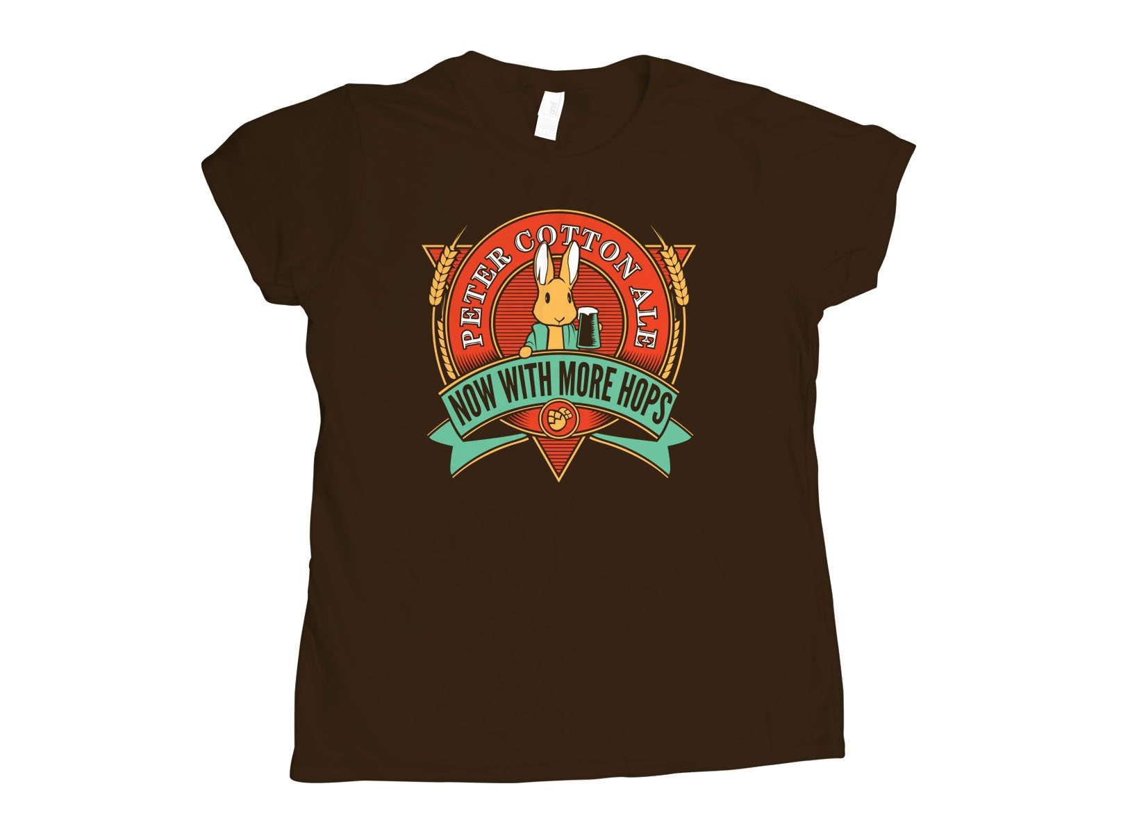 Peter Cotton Ale on Womens T-Shirt