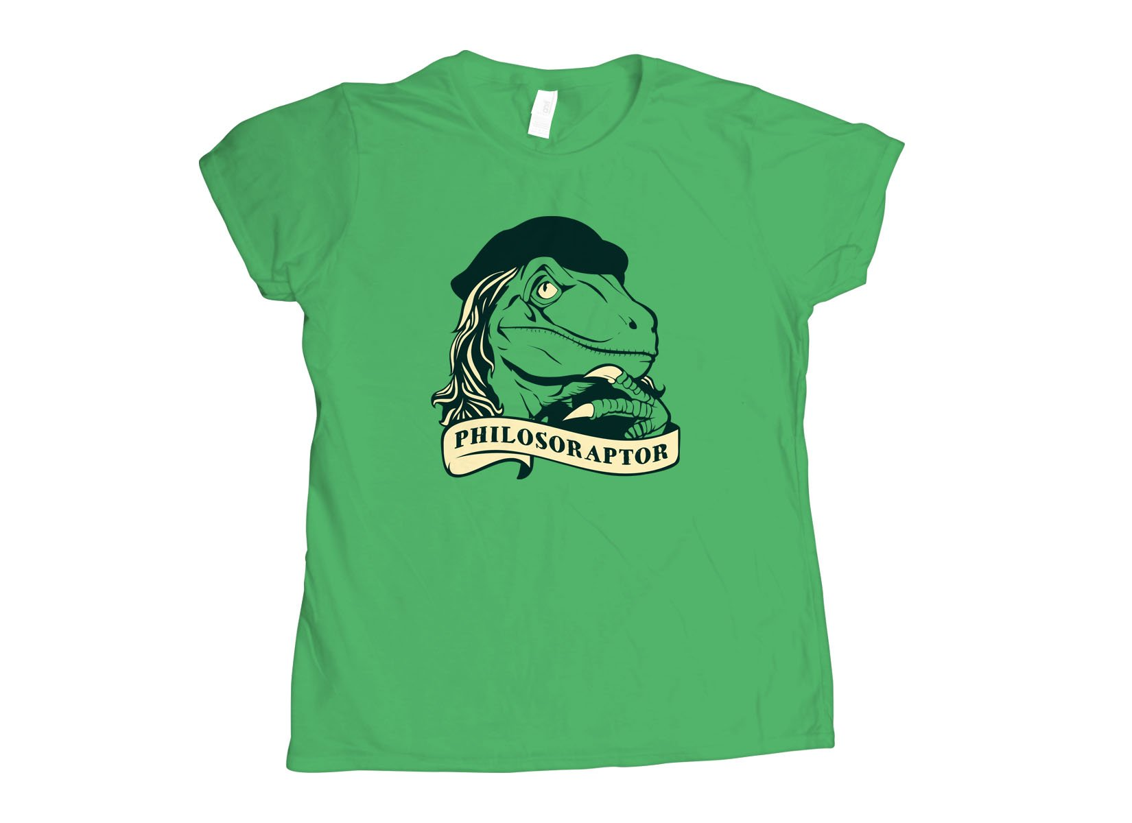 Philosoraptor on Womens T-Shirt