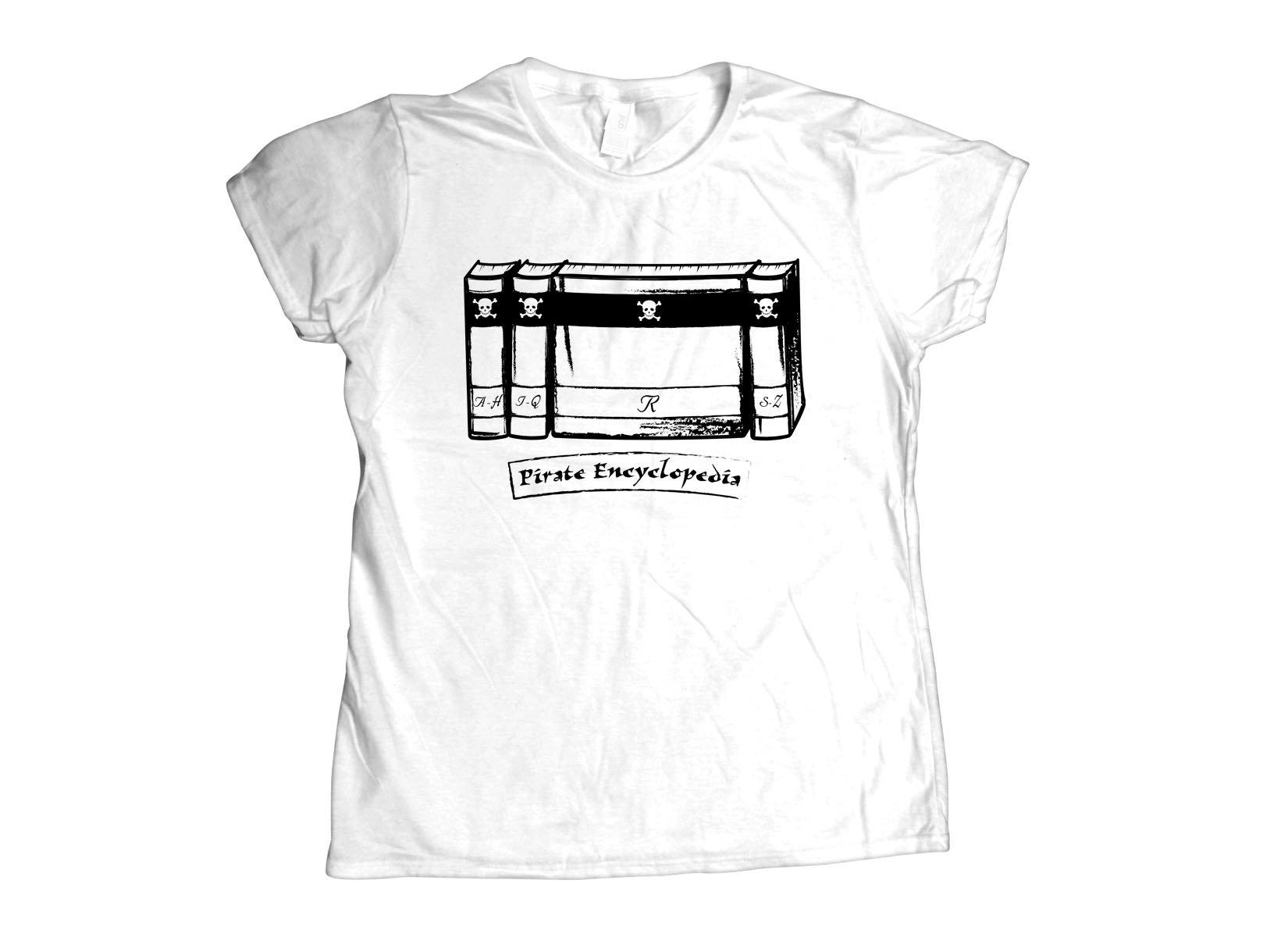 Pirate Encyclopedia on Womens T-Shirt