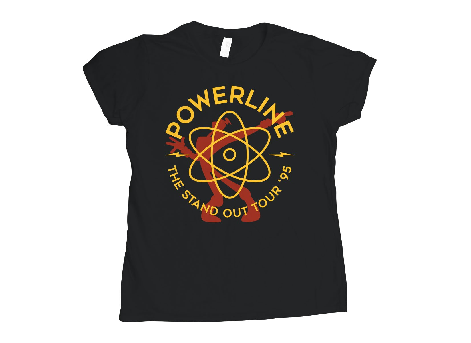 Powerline on Womens T-Shirt