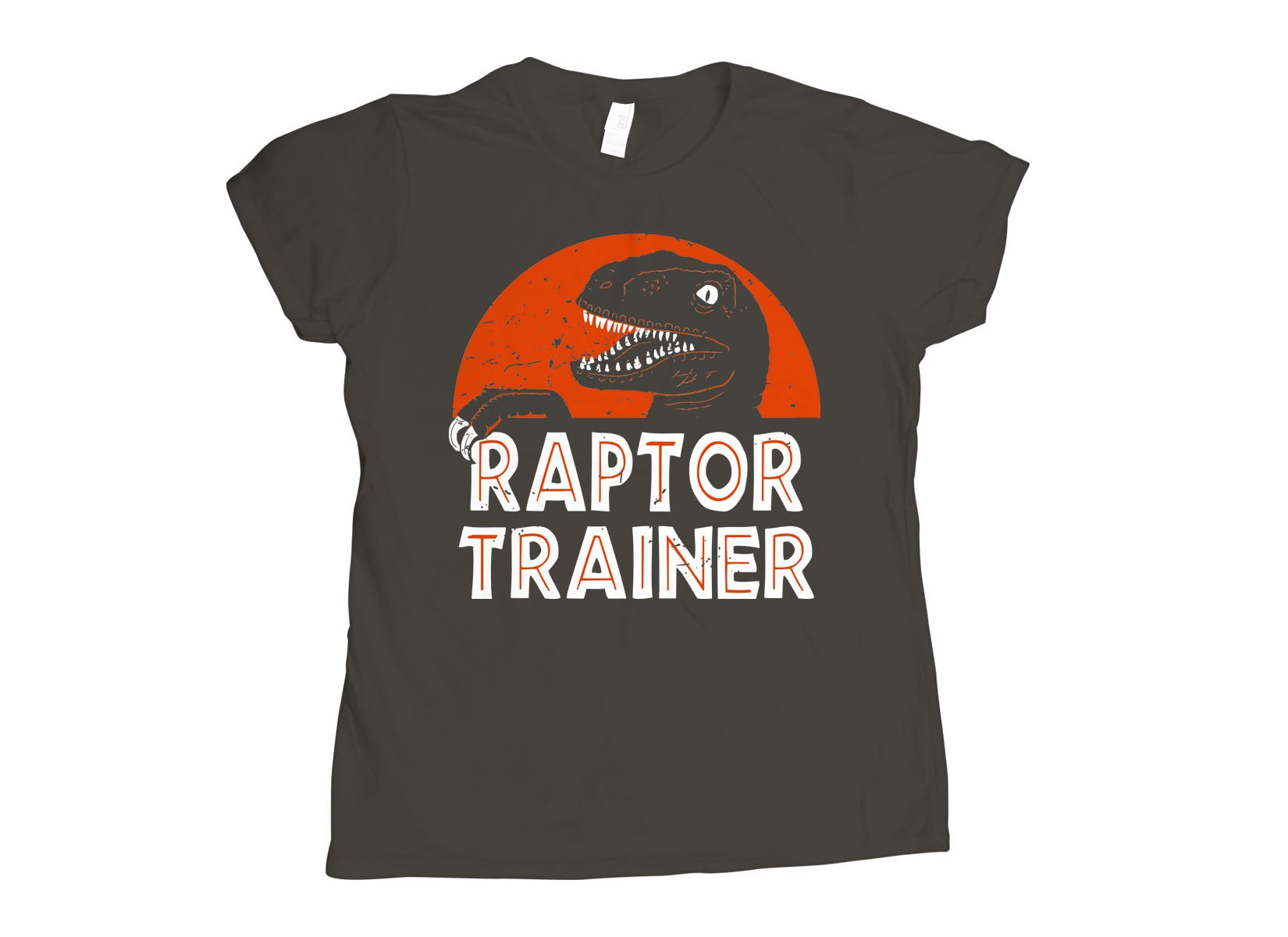 Raptor Trainer on Womens T-Shirt
