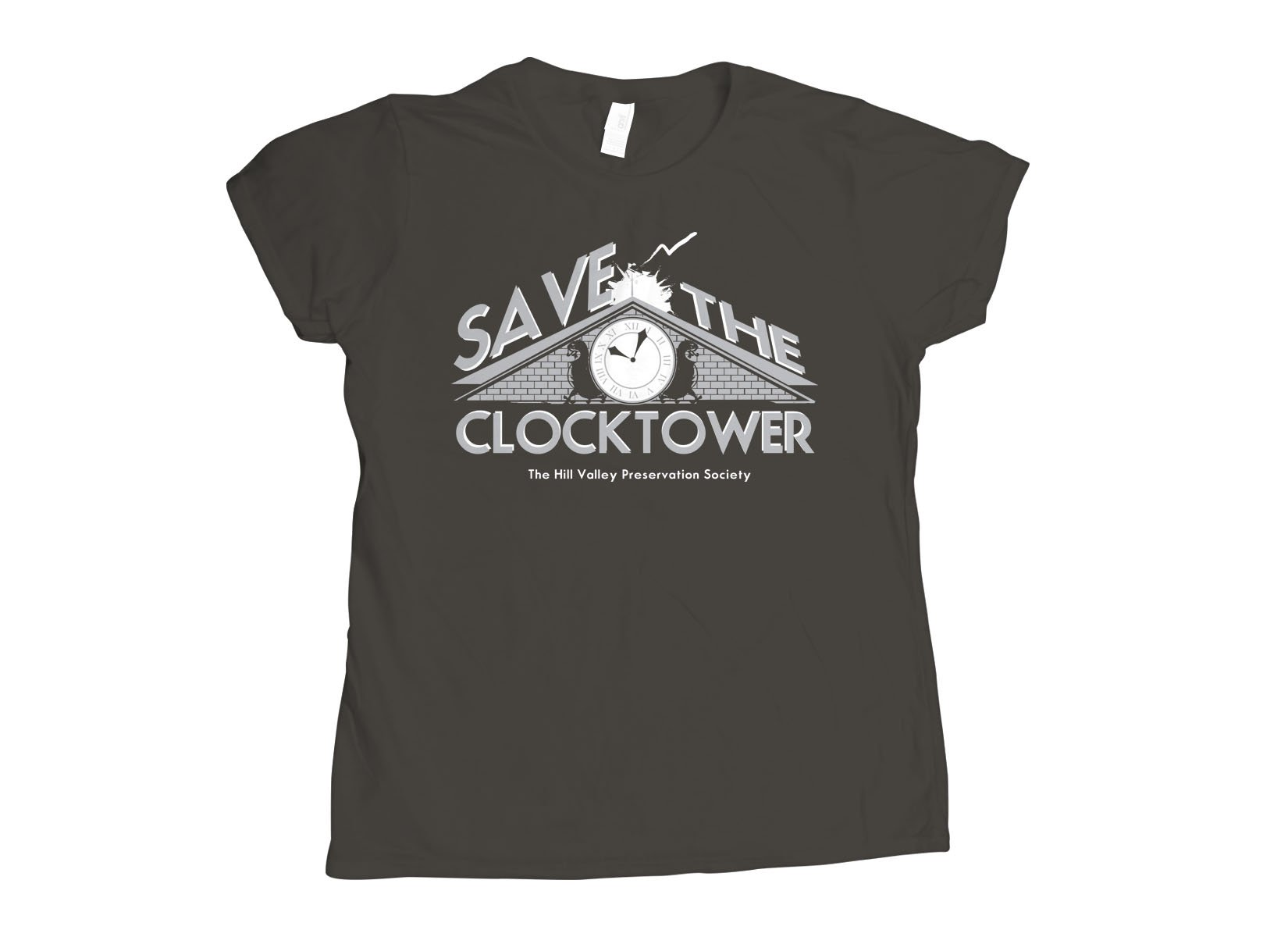 Save The Clocktower on Womens T-Shirt
