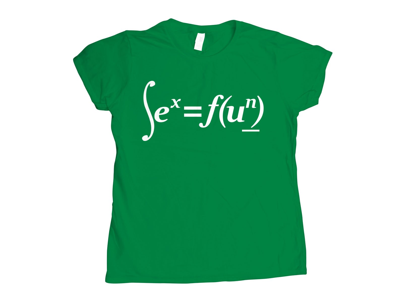 Sex Equation on Womens T-Shirt