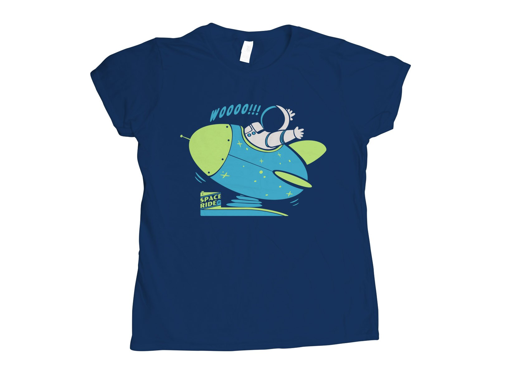 Space Ride on Womens T-Shirt
