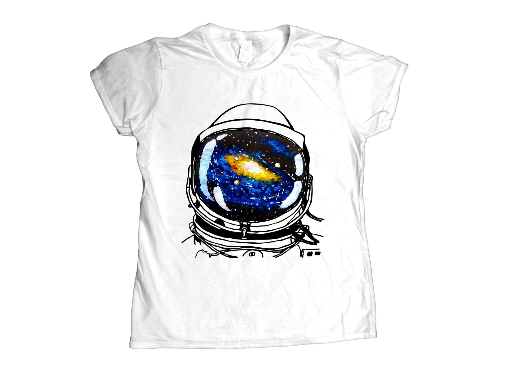 Space Sight on Womens T-Shirt