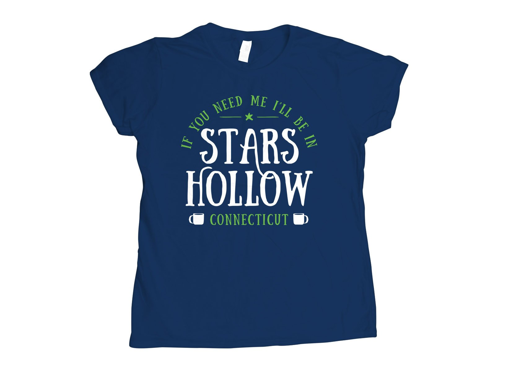 Stars Hollow on Womens T-Shirt