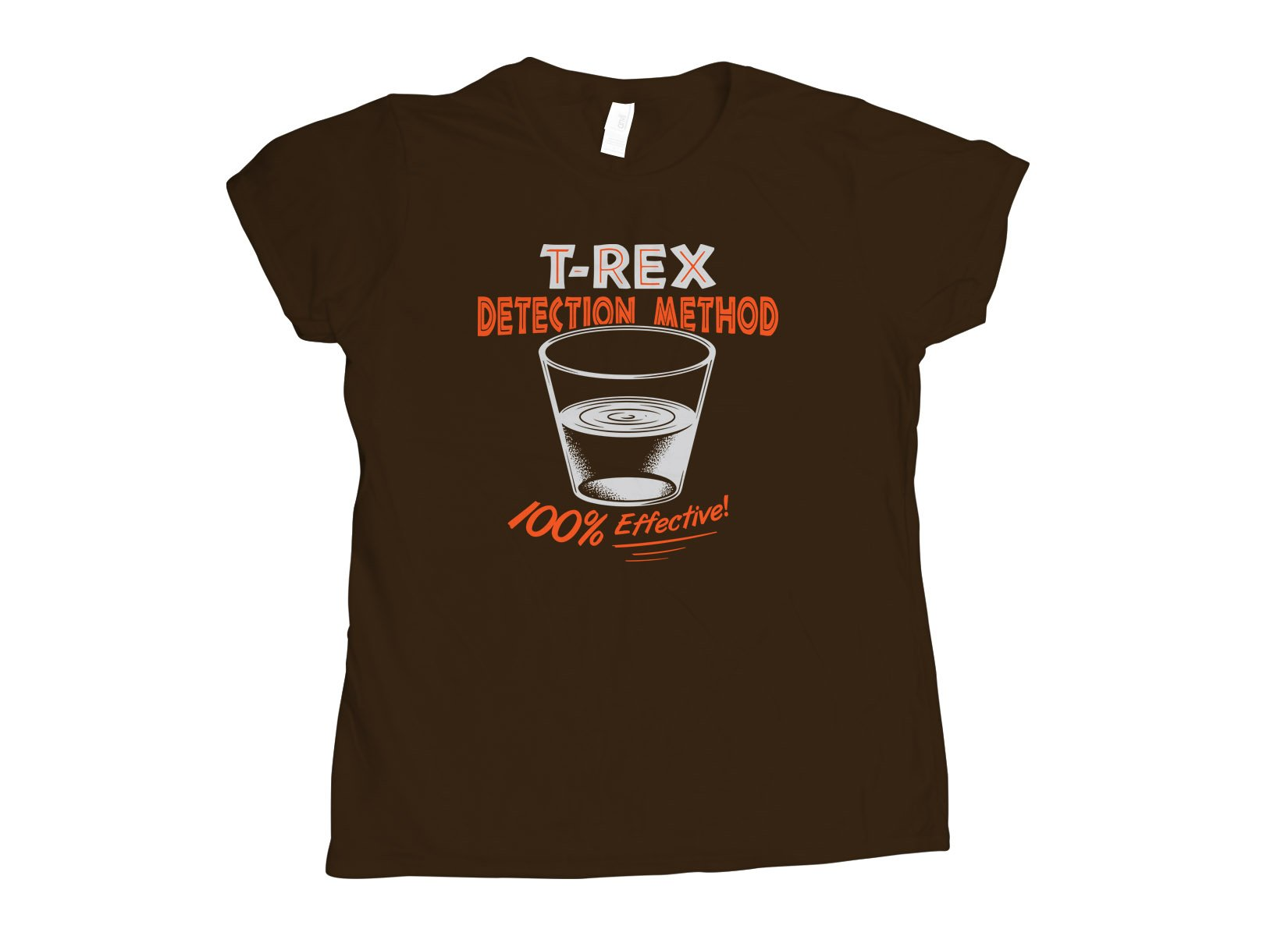 T-Rex Detection Method on Womens T-Shirt