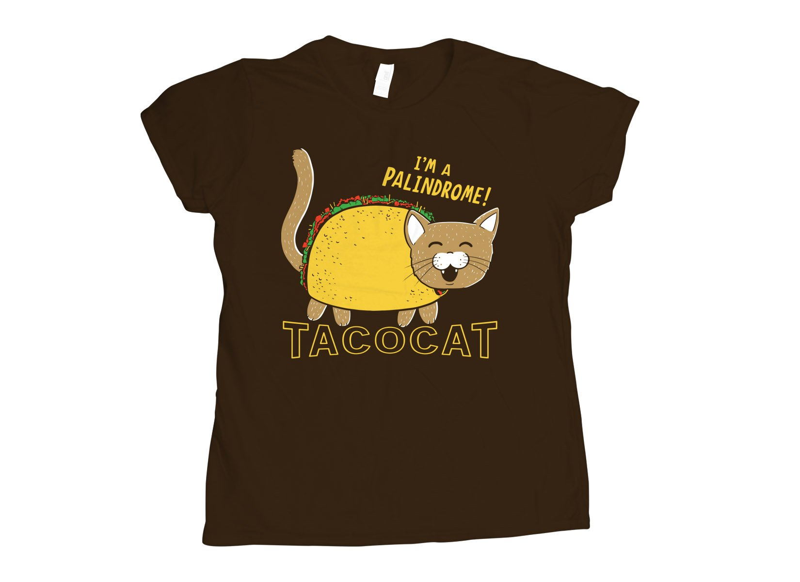 Taco Cat on Womens T-Shirt
