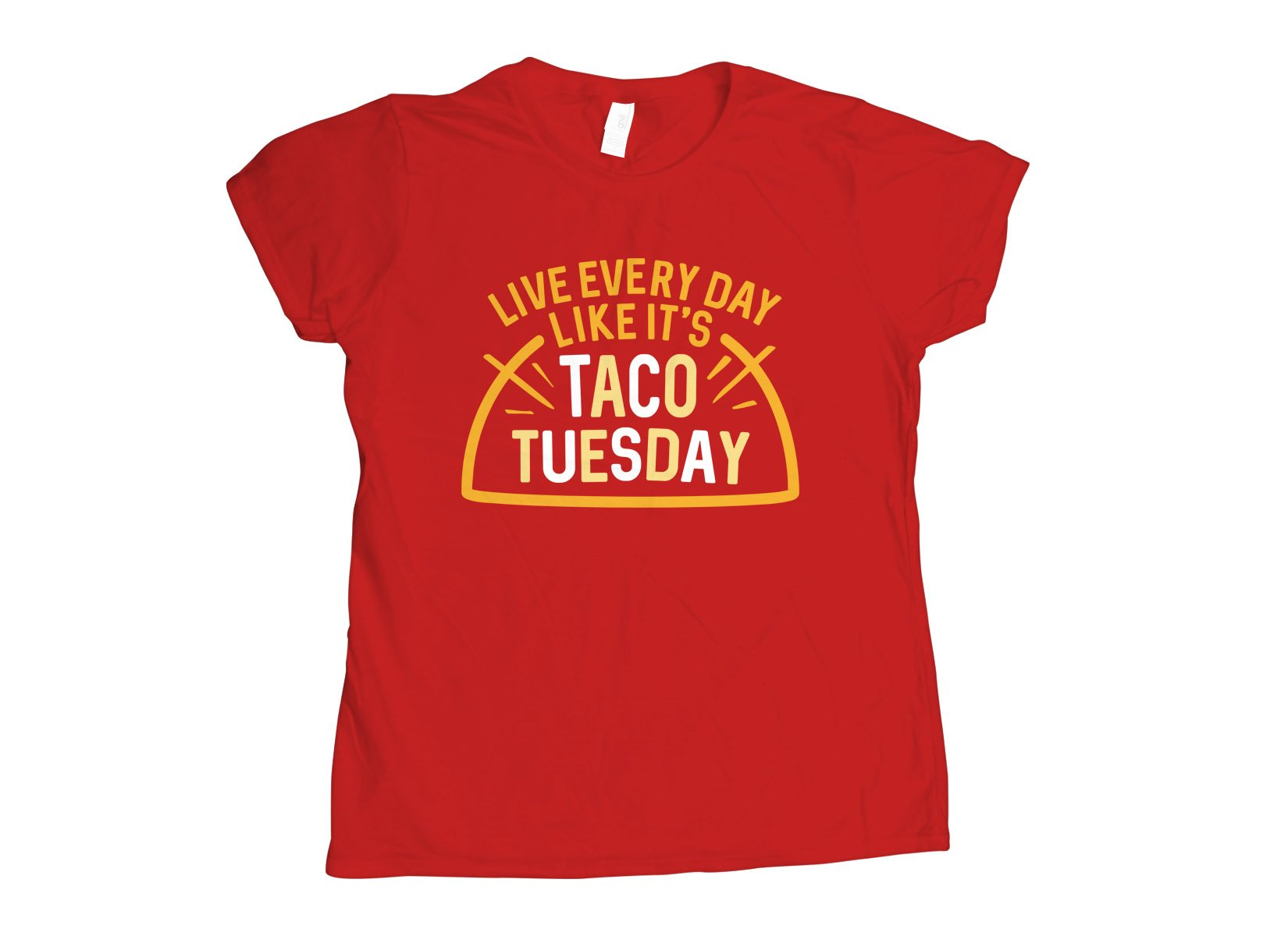 Taco Tuesday on Womens T-Shirt