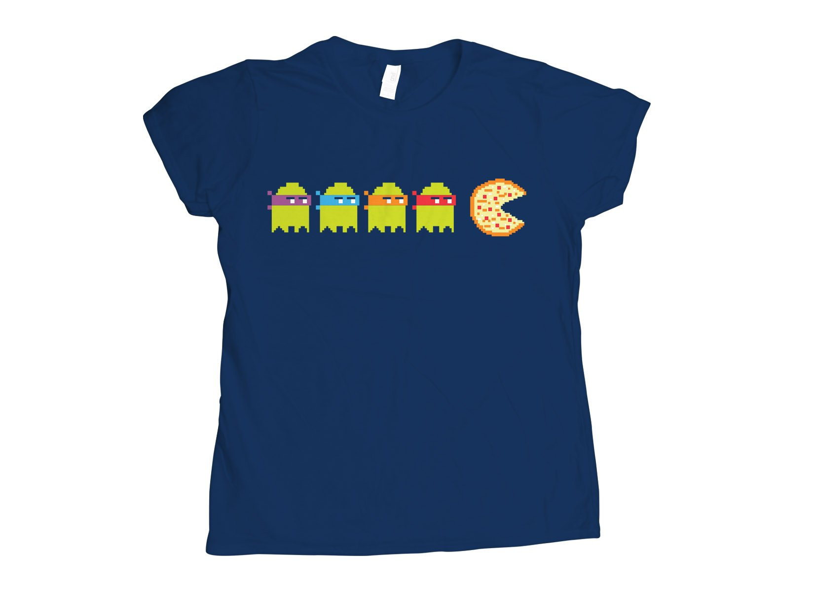 Teenage Mutant Ninja Ghosts on Womens T-Shirt