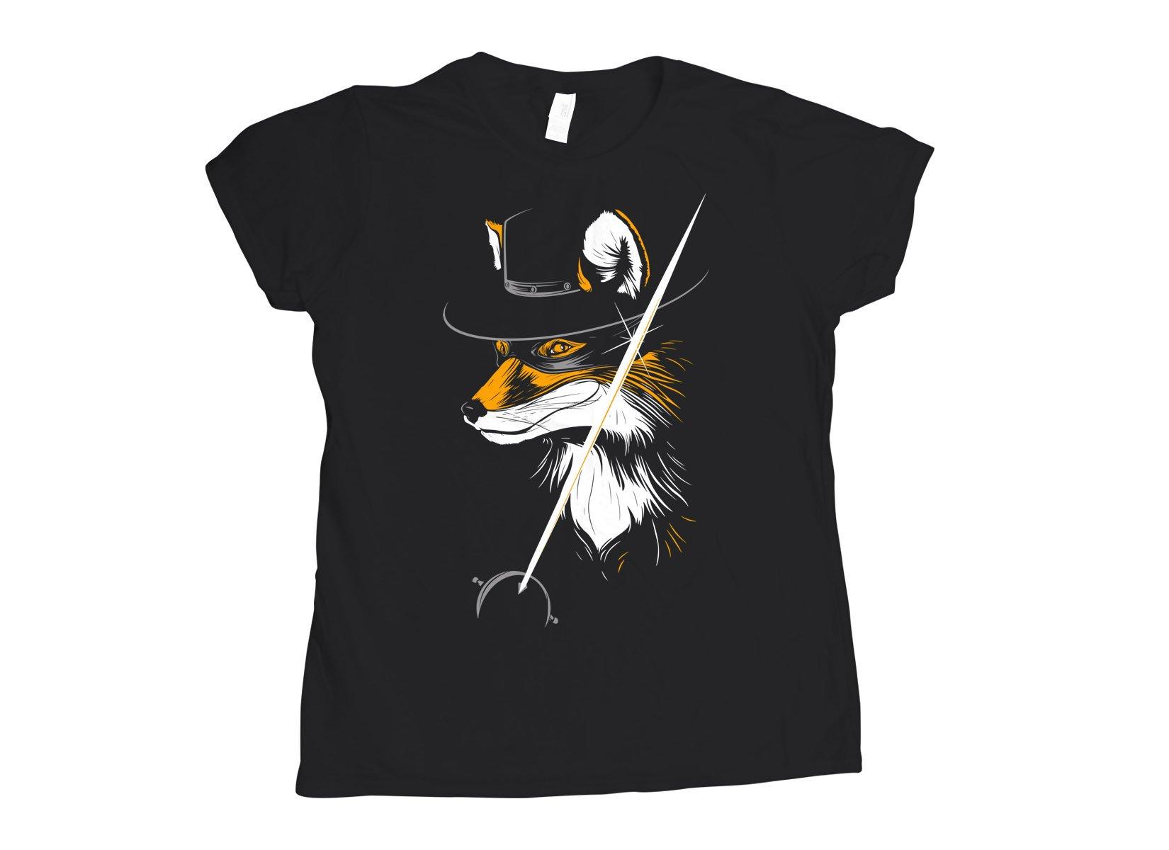 The Fox on Womens T-Shirt