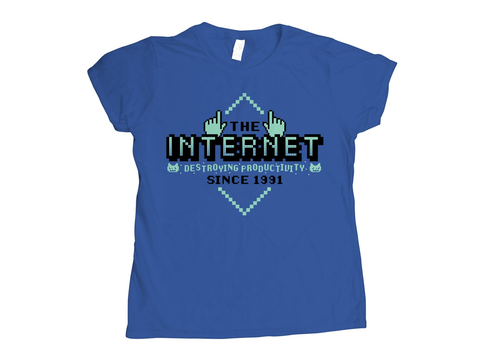 The Internet on Womens T-Shirt