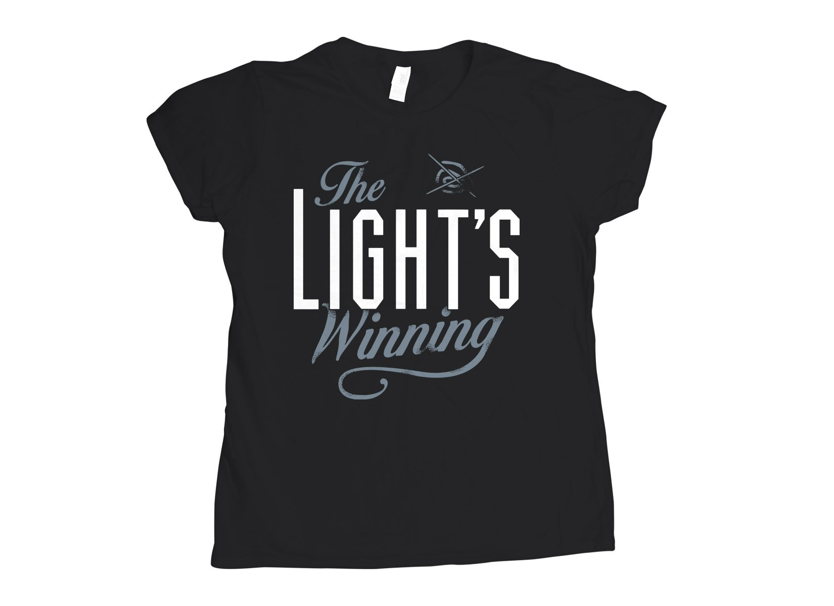 The Light's Winning on Womens T-Shirt