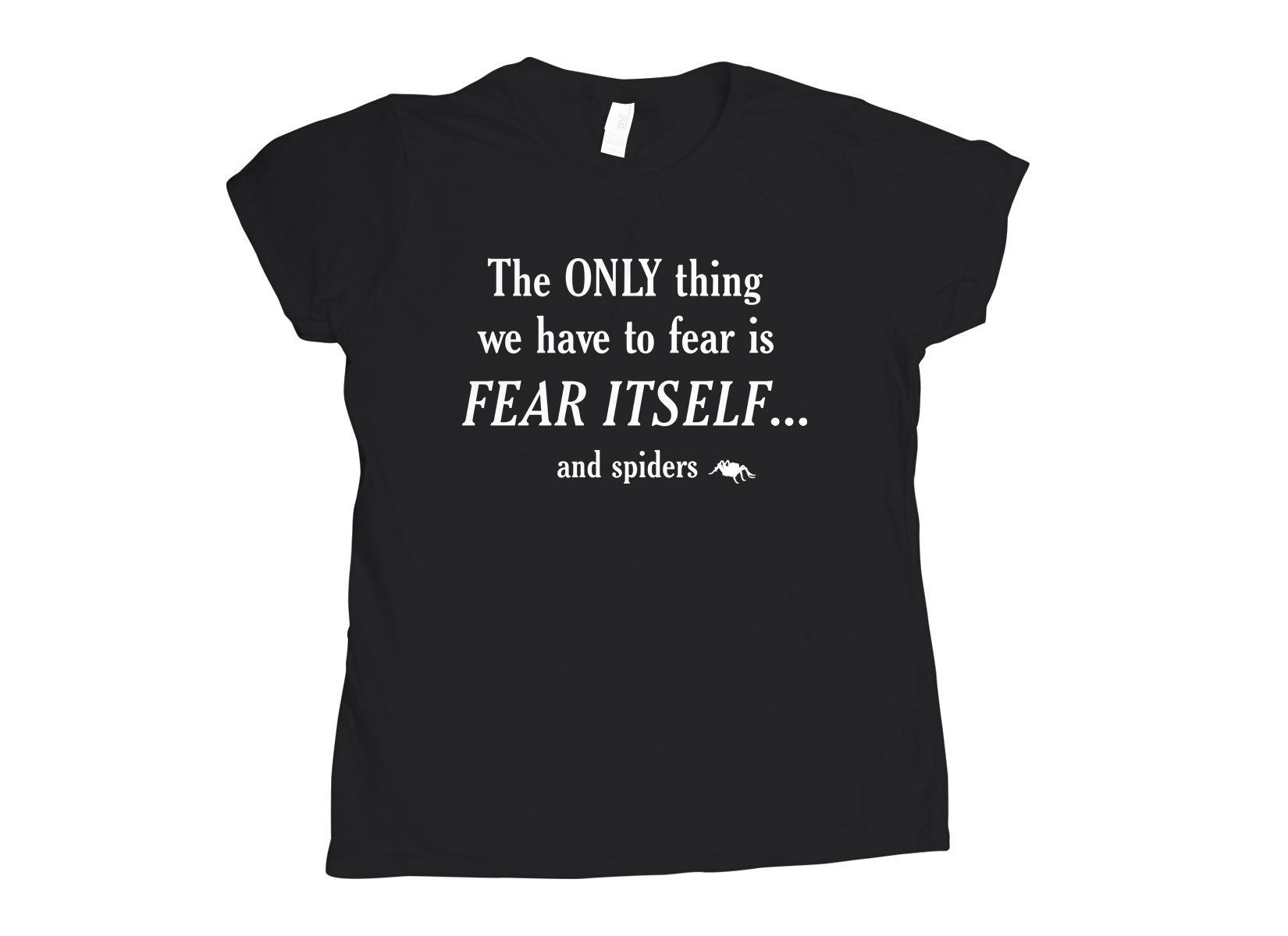 The only thing we have to fear on Womens T-Shirt