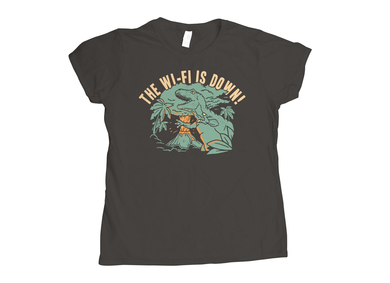 The Wi-Fi Is Down! on Womens T-Shirt